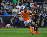 Apr 19, 2014 - MLS: Houston Dynamo vs Philadelphia Union - Ricardo Clark Photo by John Geliebter