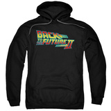 Hoodie: Back To The Future II - Logo Pullover Hoodie