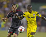 Aug 9, 2014 - MLS: Toronto FC vs Columbus Crew - Gilberto, Waylon Francis Photo by Trevor Ruszkowski