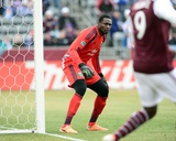 Mar 22, 2014 - MLS: Portland Timbers vs Colorado Rapids - Donovan Ricketts, Edson Buddle Photo by Ron Chenoy