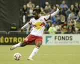 Apr 5, 2014 - MLS: New York Red Bulls vs Montreal Impact - Peguy Luyindula Photo by Eric Bolte