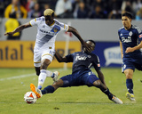 Apr 12, 2014 - MLS: Vancouver Whitecaps vs Los Angeles Galaxy - Gershon Koffie, Gyasi Zardes Photo by Christopher Hanewinckel