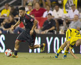 Aug 9, 2014 - MLS: Toronto FC vs Columbus Crew - Jonathan Osorio, Eric Gehrig Photo by Trevor Ruszkowski