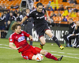 Apr 26, 2014 - MLS: FC Dallas vs D.C. United - Fabian Espindola, Stephen Keel Photo by Paul Frederiksen