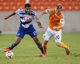 2014 MLS U.S. Open Cup: Jun 24, FC Dallas vs Houston Dynamo - Andrew Driver, Tesho Akindele Photo by Troy Taormina