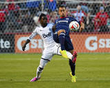Jul 30, 2014 - MLS: Vancouver Whitecaps vs Chicago Fire - Darren Mattocks, Patrick Ianni Photo by Mike Dinovo