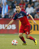 Aug 10, 2014 - MLS: New York Red Bulls vs Chicago Fire - Mike Magee Photo by Dennis Wierzbicki