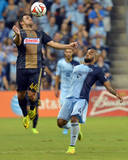 Aug 1, 2014 - MLS: Philadelphia Union vs Sporting KC - Danny Cruz Photo by Denny Medley