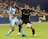 Aug 23, 2014 - MLS: D.C. United vs Sporting KC Photo by Gary Rohman