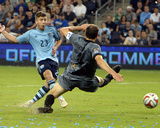 2014 MLS U.S. Open Cup: Jun 18, Minnesota United vs Sporting KC - Alex Martinez Photo by John Rieger