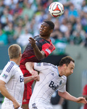 Jun 1, 2014 - MLS: Vancouver Whitecaps vs Portland Timbers - Fanendo Adi Photo by Jaime Valdez