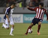 Jun 28, 2014 - MLS: Real Salt Lake vs Chivas USA - Luis Gil, Erick Torres Photo by Kelvin Kuo