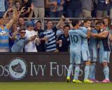 Aug 16, 2014 - MLS: Toronto FC vs Sporting KC - Dom Dwyer Photo by Denny Medley