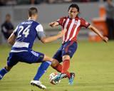 Aug 3, 2014 - MLS: FC Dallas vs Chivas USA - Mauro Rosales, Matt Hedges Photo by Jayne Kamin-Oncea