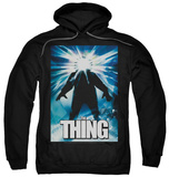 Hoodie: The Thing - Poster Pullover Hoodie
