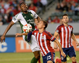 May 28, 2014 - MLS: Portland Timbers vs Chivas USA - Frederic Piquionne, Donny Toia Photo by Jayne Kamin-Oncea