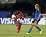 Jul 2, 2014 - MLS: Chivas USA vs San Jose Earthquakes - Oswaldo Minda, Steven Lenhart Photo by Kelley L Cox