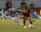 Jul 12, 2014 - MLS: Real Salt Lake vs Los Angeles Galaxy - Kyle Beckerman, Robbie Keane Photo by Kirby Lee