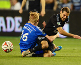 Apr 19, 2014 - MLS: Montreal Impact vs Sporting KC - Calum Mallace Photo by Jasen Vinlove