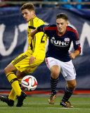 2014 MLS Playoffs: Nov 9, Columbus Crew vs New England Revolution - Kelyn Rowe Photo by Winslow Townson
