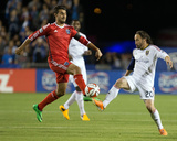 Mar 15, 2014 - MLS: Real Salt Lake vs San Jose Earthquakes - Ned Grabavoy, Chris Wondolowski Photo by Kelley L Cox