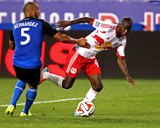 Jul 19, 2014 - MLS: San Jose Earthquakes v NY Red Bulls - Bradley Wright-Phillips, Victor Bernardez Photo by Noah K. Murray