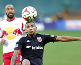 2014 MLS Playoffs: Nov 8, New York Red Bulls vs D.C. United - Thierry Henry, Sean Franklin Photo by Geoff Burke