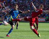 Jun 7, 2014 - MLS: San Jose Earthquakes vs Toronto FC - Clarence Goodson Photo by Nick Turchiaro