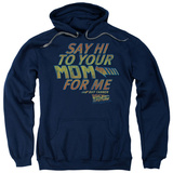 Hoodie: Back To The Future - Say Hi Pullover Hoodie