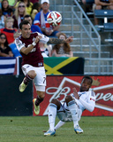 Jun 28, 2014 - MLS: Vancouver Whitecaps vs Colorado Rapids - Vicente Sanchez, Carlyle Mitchell Photo af Isaiah J. Downing