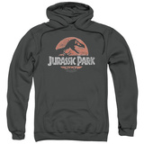 Hoodie: Jurassic Park - Faded Logo T-shirts