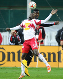 2014 MLS Playoffs: Nov 8, New York Red Bulls vs D.C. United - Eddie Johnson, Ibrahim Sekagya Photo by Brad Mills