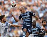 Jul 19, 2014 - MLS: Los Angeles Galaxy vs Sporting KC - Aurelien Collin Photo by Peter Aiken