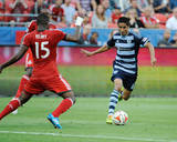 Jul 26, 2014 - MLS: Sporting KC vs Toronto FC - Doneil Henry Photo by Peter Llewellyn