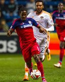 Oct 24, 2014 - MLS: Houston Dynamo vs Chicago Fire - Lovel Palmer, Giles Barnes Photo by Guy Rhodes