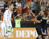 Aug 17, 2014 - MLS: Colorado Rapids vs D.C. United - Nick DeLeon, Clint Irwin, Luis Silva Photo by Geoff Burke