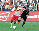 2014 MLS Playoffs: Nov 8, NY Red Bulls vs D.C. United - Bradley Wright-Phillips, Steve Birnbaum Photo by Geoff Burke