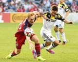 Aug 2, 2014 - MLS: Columbus Crew vs Chicago Fire - Jeff Larentowicz Photo by Mike Dinovo