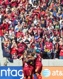 Mar 22, 2014 - MLS: Los Angeles Galaxy vs Real Salt Lake - Alvaro Saborio Photo by Russell Isabella