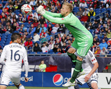 Mar 22, 2014 - MLS: Vancouver Whitecaps vs New England Revolution - David Ousted Photo by Winslow Townson