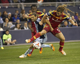 Apr 5, 2014 - MLS: Real Salt Lake vs Sporting KC - Graham Zusi Foto af Gary Rohman