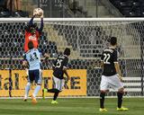 2014 MLS U.S. Open Cup: Jun 17, Harrisburg City Islanders vs Philadelphia Union - Andre Blake Foto af John Geliebter