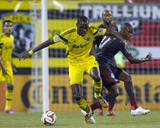 Aug 9, 2014 - MLS: Toronto FC vs Columbus Crew - Tony Tchani Photo by Trevor Ruszkowski