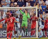 Aug 16, 2014 - MLS: Toronto FC vs Sporting KC - Joe Bendik, Aurelien Collin Photo by Denny Medley