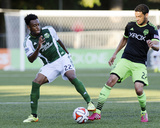 2014 MLS U.S. Open Cup: Jul 9, Portland Timbers vs Seattle Sounders - Rodney Wallace Photo by Steven Bisig