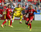 May 31, 2014 - MLS: Columbus Crew vs Toronto FC - Josh Williams Photo by John E. Sokolowski