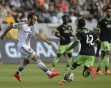 2014 MLS Western Conference Championship: Nov 23, Seattle Sounders vs LA Galaxy - Michael Azira Photo by Kelvin Kuo
