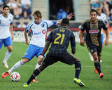 Aug 9, 2014 - MLS: Montreal Impact vs Philadelphia Union - Gorka Larrea Photo by John Geliebter