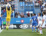 May 31, 2014 - MLS: New England Revolution vs Montreal Impact - Felipe Martins, Troy Perkins Photo by Jean-Yves Ahern