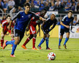 Aug 16, 2014 - MLS: FC Dallas vs San Jose Earthquakes - Chris Wondolowski Photo by Kelley L Cox